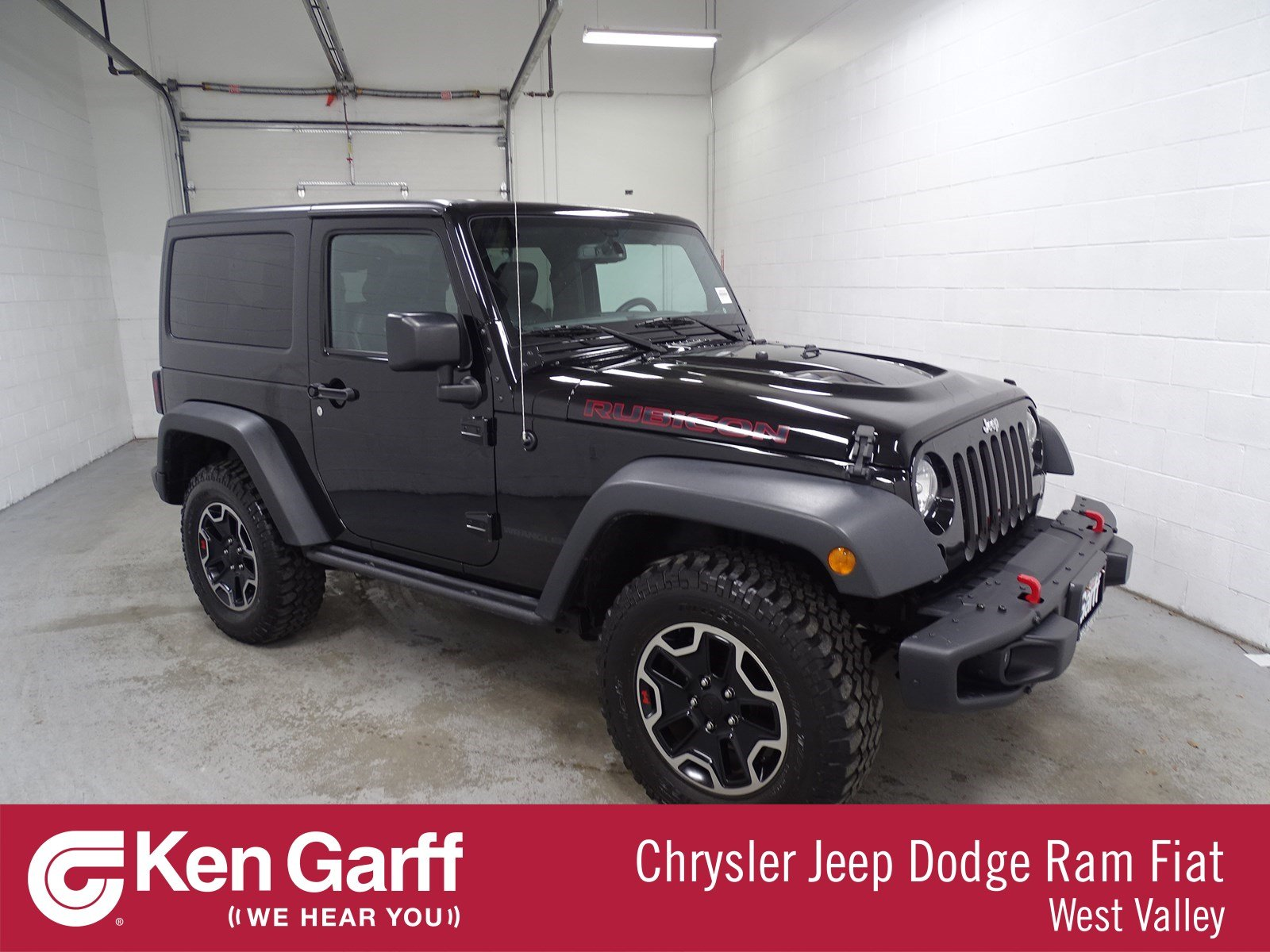 Pre Owned 2016 Jeep Wrangler Rubicon Hard Rock
