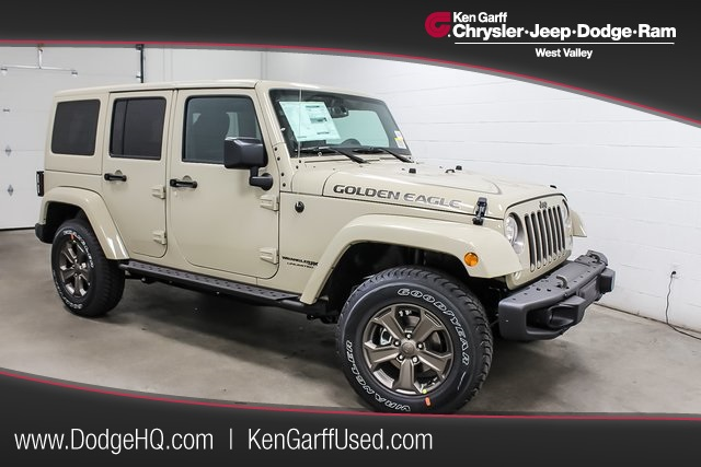Jeep Certified Pre Owned 2 >> New 2018 Jeep Wrangler JK Unlimited Golden Eagle 4D Sport Utility #1J80388 | Ken Garff ...