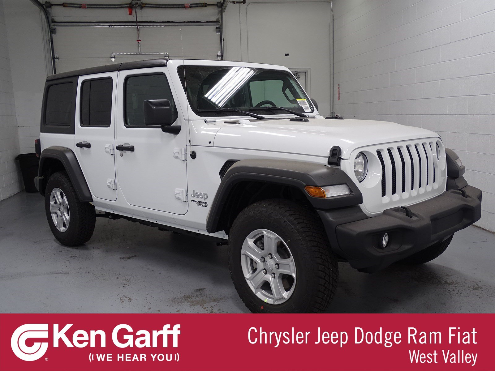 New 2018 Jeep Wrangler Unlimited Sport S Convertible 1j81042 Ken 0 Dodge Dakota Custom Fit Vehicle Wiring Tow Ready
