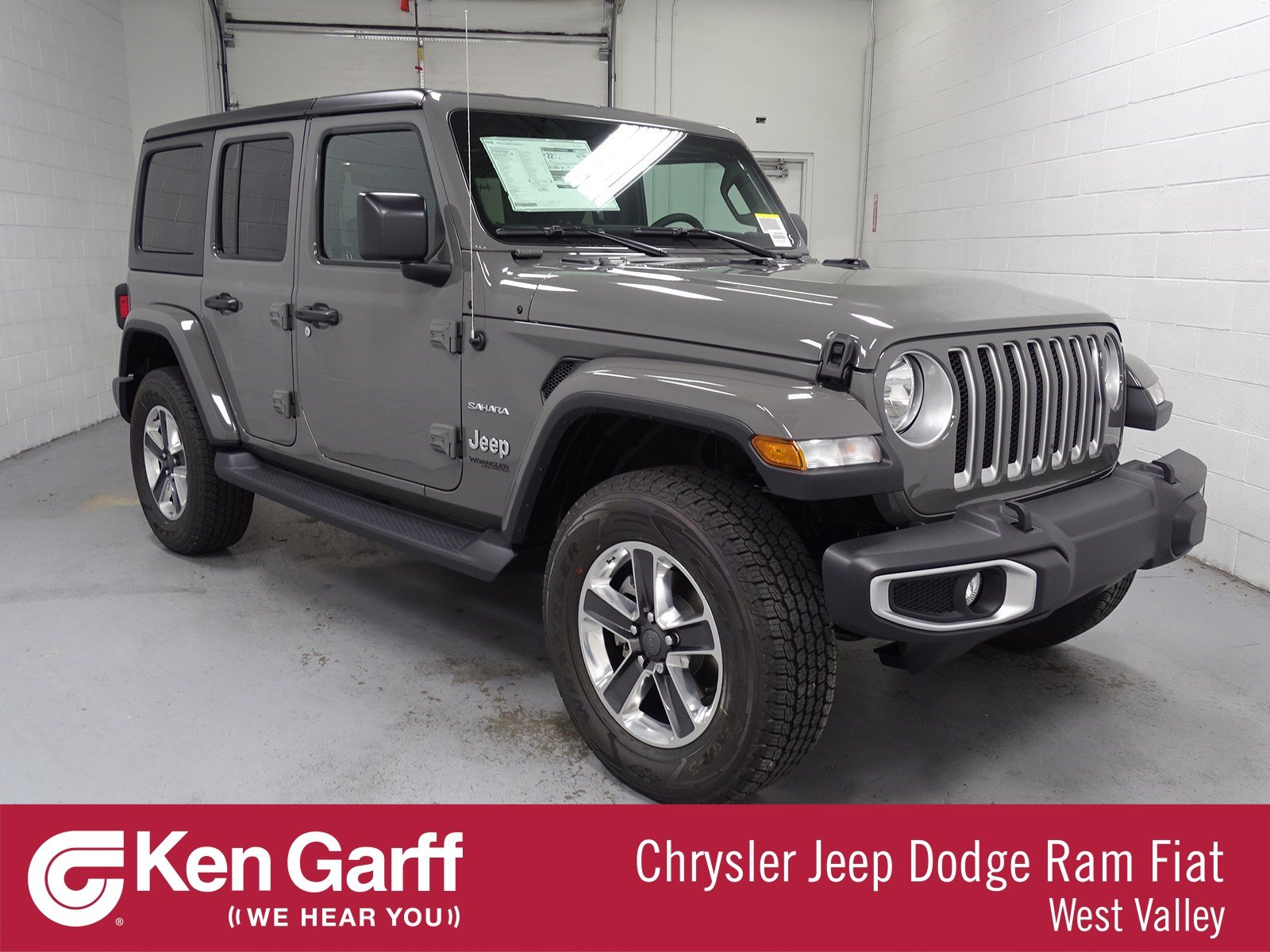 New 2018 Jeep Wrangler Unlimited Sahara Convertible 1j80966 Ken 0 Dodge Dakota Custom Fit Vehicle Wiring Tow Ready