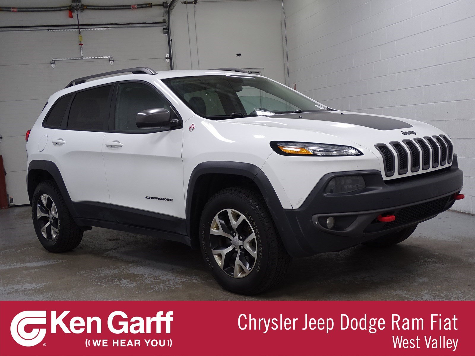 Jeep Certified Pre-Owned >> Certified Pre Owned 2015 Jeep Cherokee Trailhawk Sport Utility