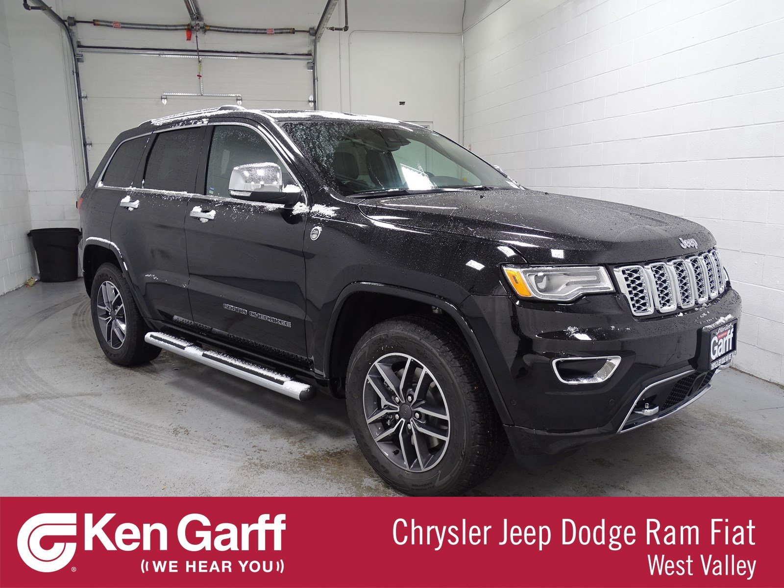 Jeep Grand Cherokee Overland >> New 2019 Jeep Grand Cherokee Overland 4wd