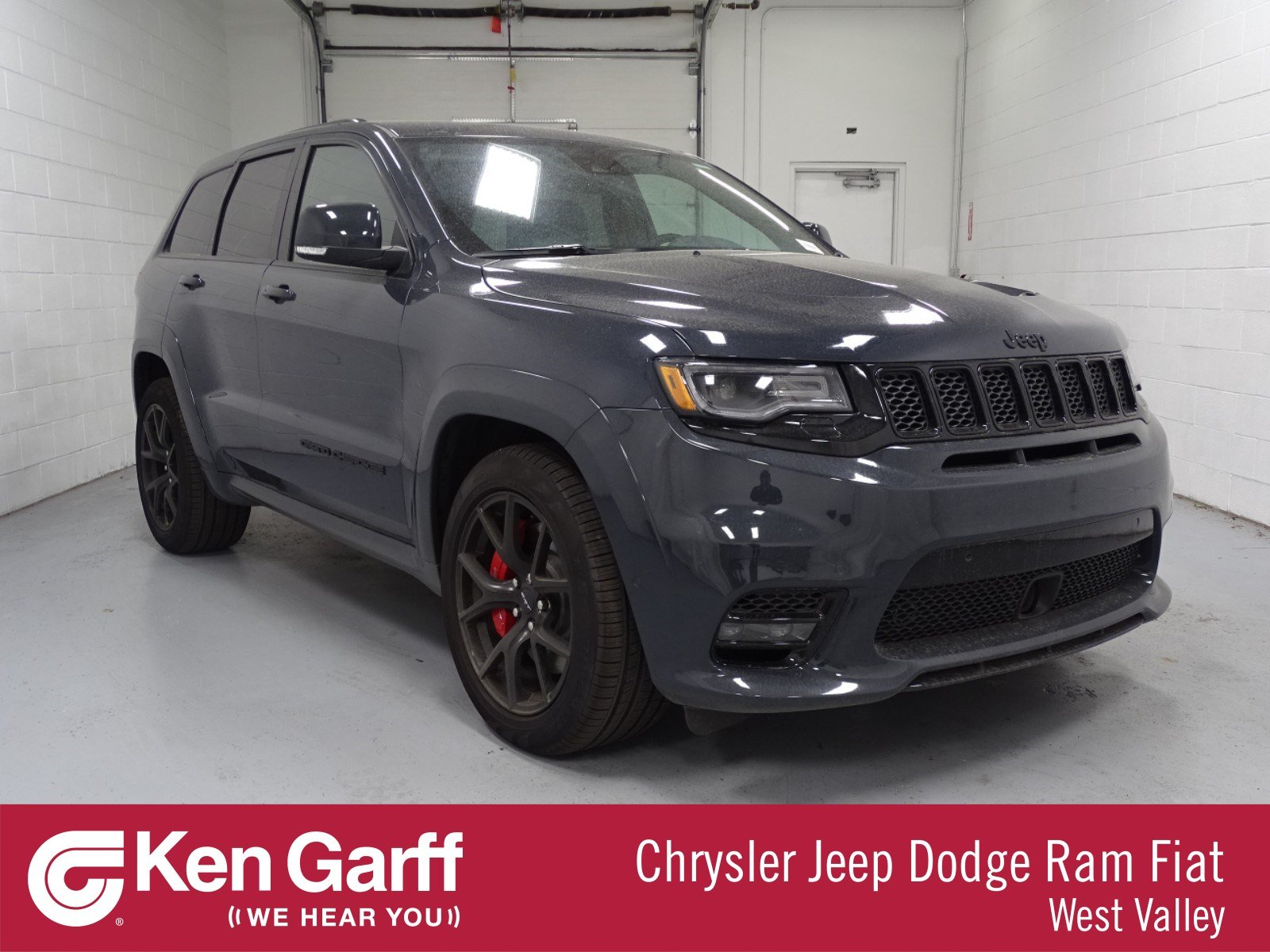 new 2018 jeep grand cherokee srt sport utility 1j80316 ken garff