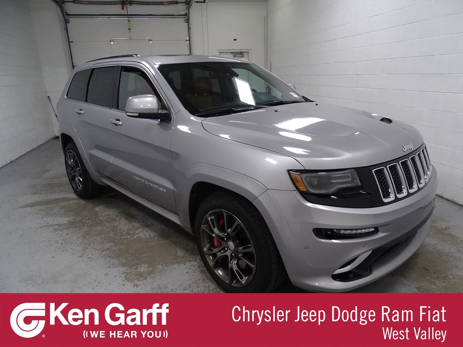 Jeep Certified Pre Owned >> Certified Pre-Owned 2015 Jeep Grand Cherokee SRT Sport