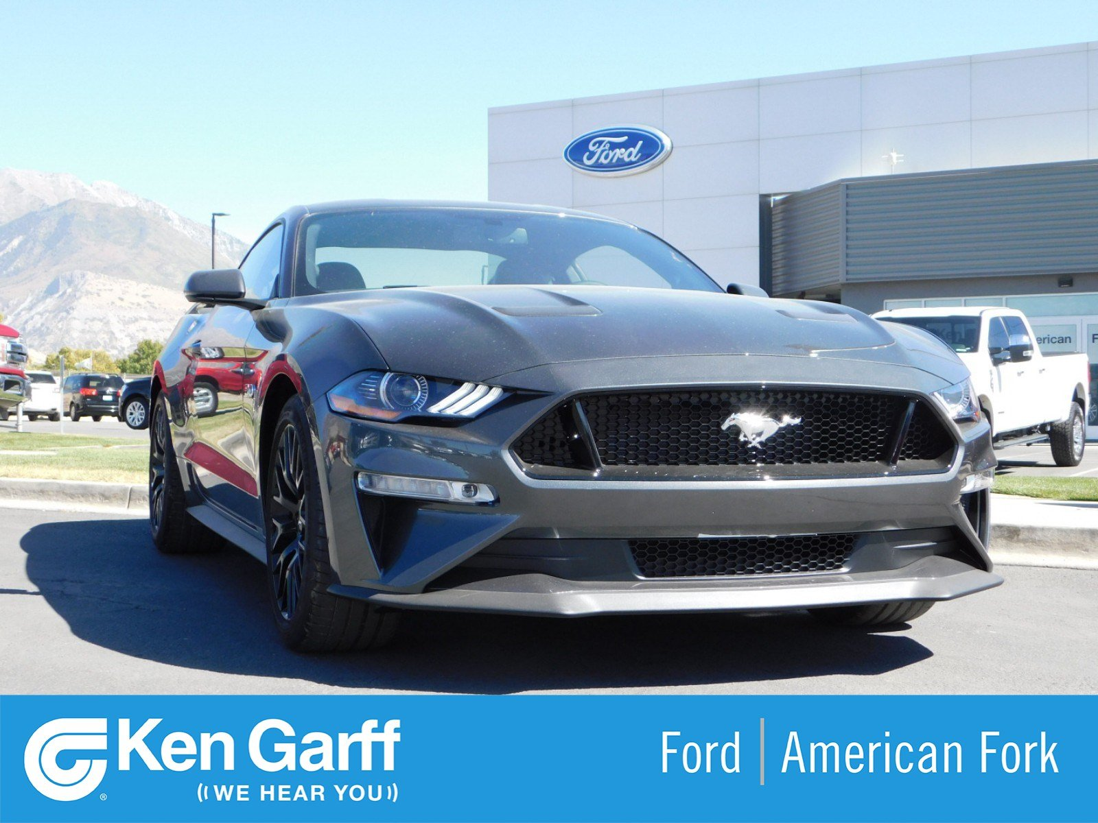 New 2019 Ford Mustang GT Premium 2dr Car 1F