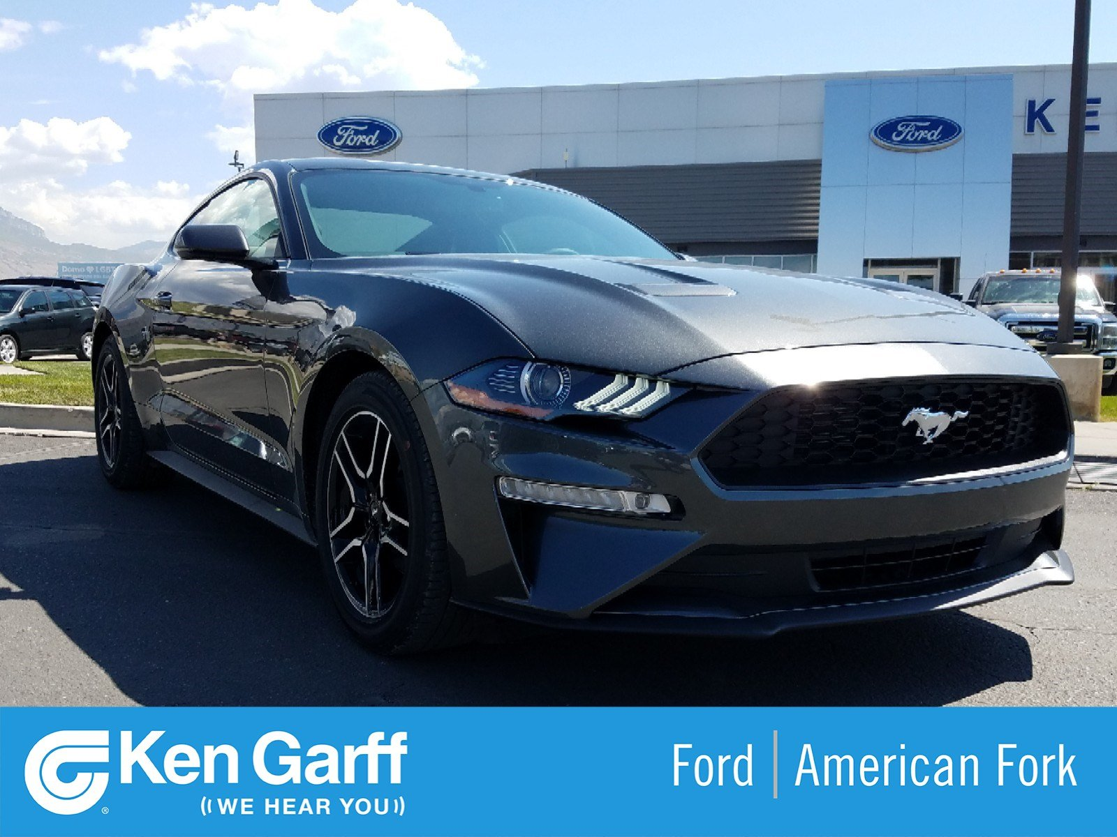 New 2019 Ford Mustang EcoBoost Premium 2dr Car 1F