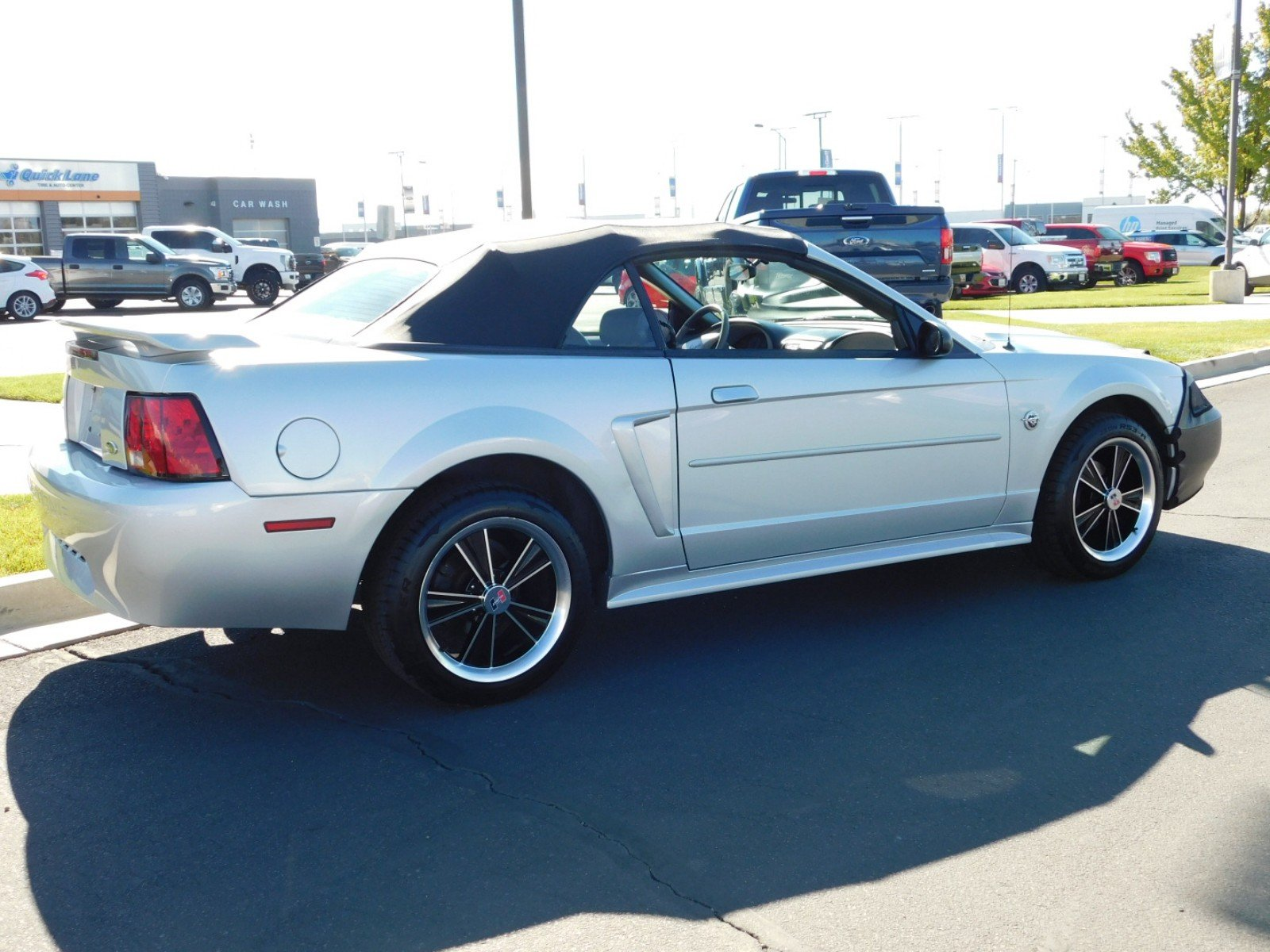 Pre Owned 2003 Ford Mustang V6 Convertible 1FP5460A