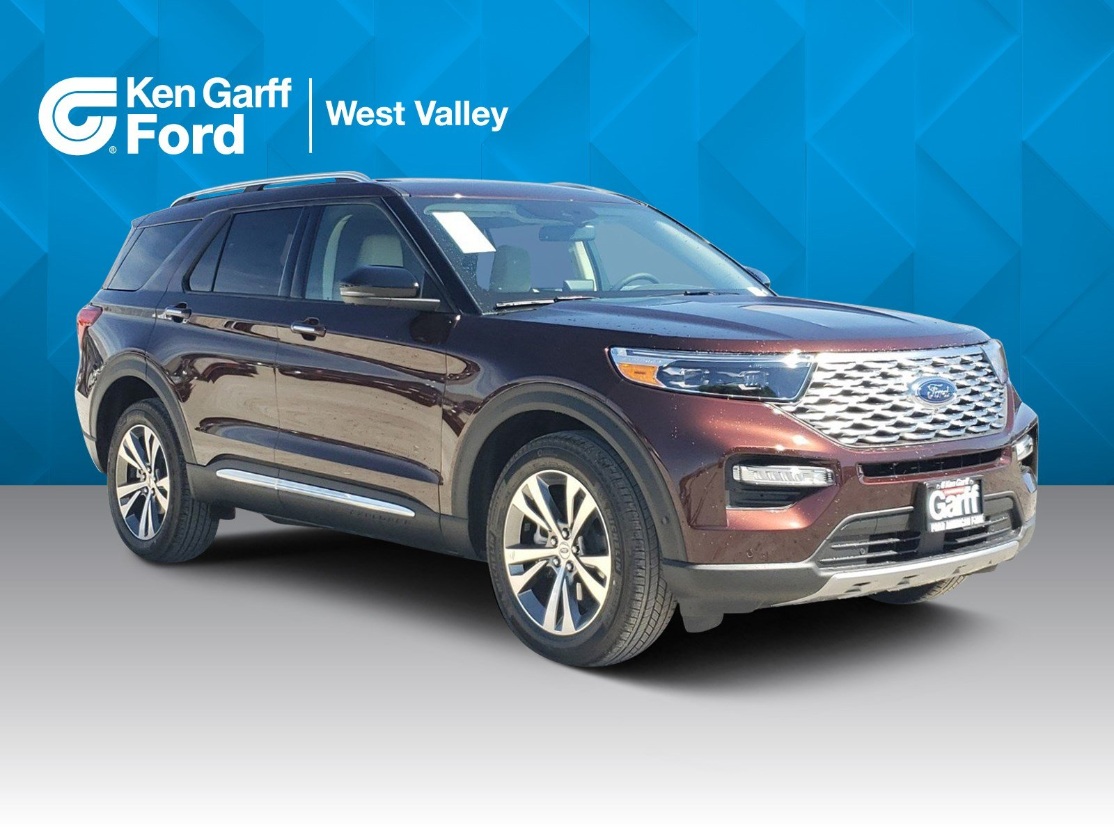 New Ford Explorer Platinum With Navigation 4wd