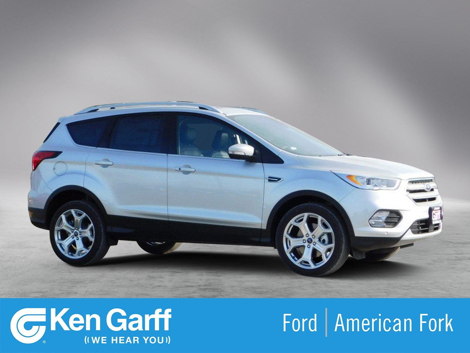 Ford Escape Titanium >> New 2019 Ford Escape Titanium Sport Utility 1f90115 Ken Garff