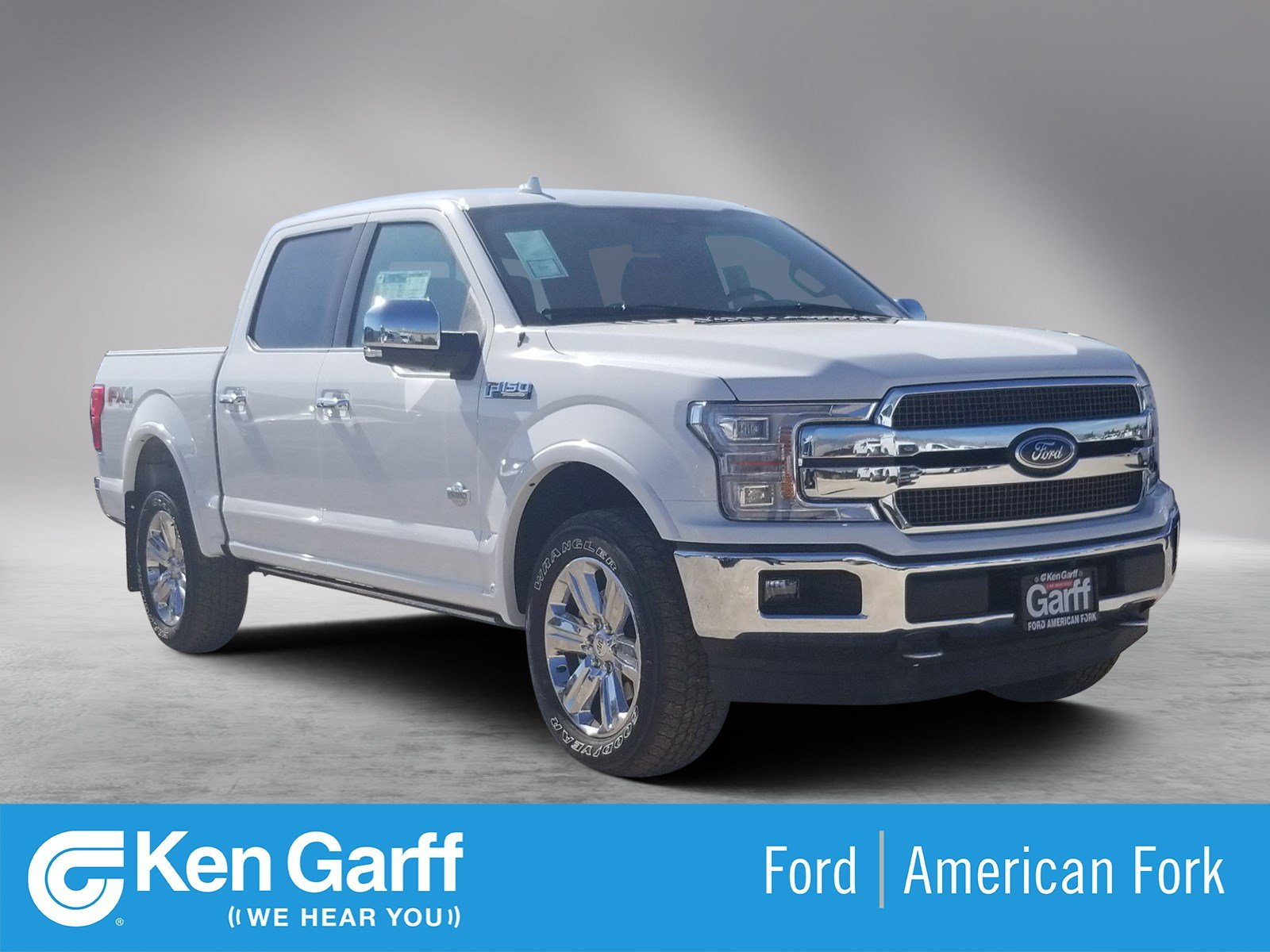 New Ford F150 >> New Ford F 150 King Ranch With Navigation 4wd