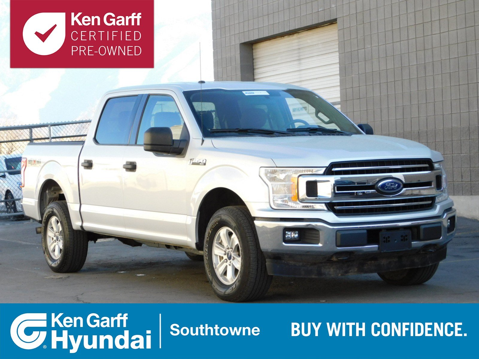 Certified pre owned 2018 ford f 150 xlt