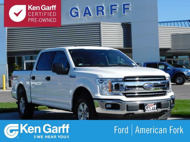 Certified Pre Owned 2018 Ford F 150 Xlt 4wd