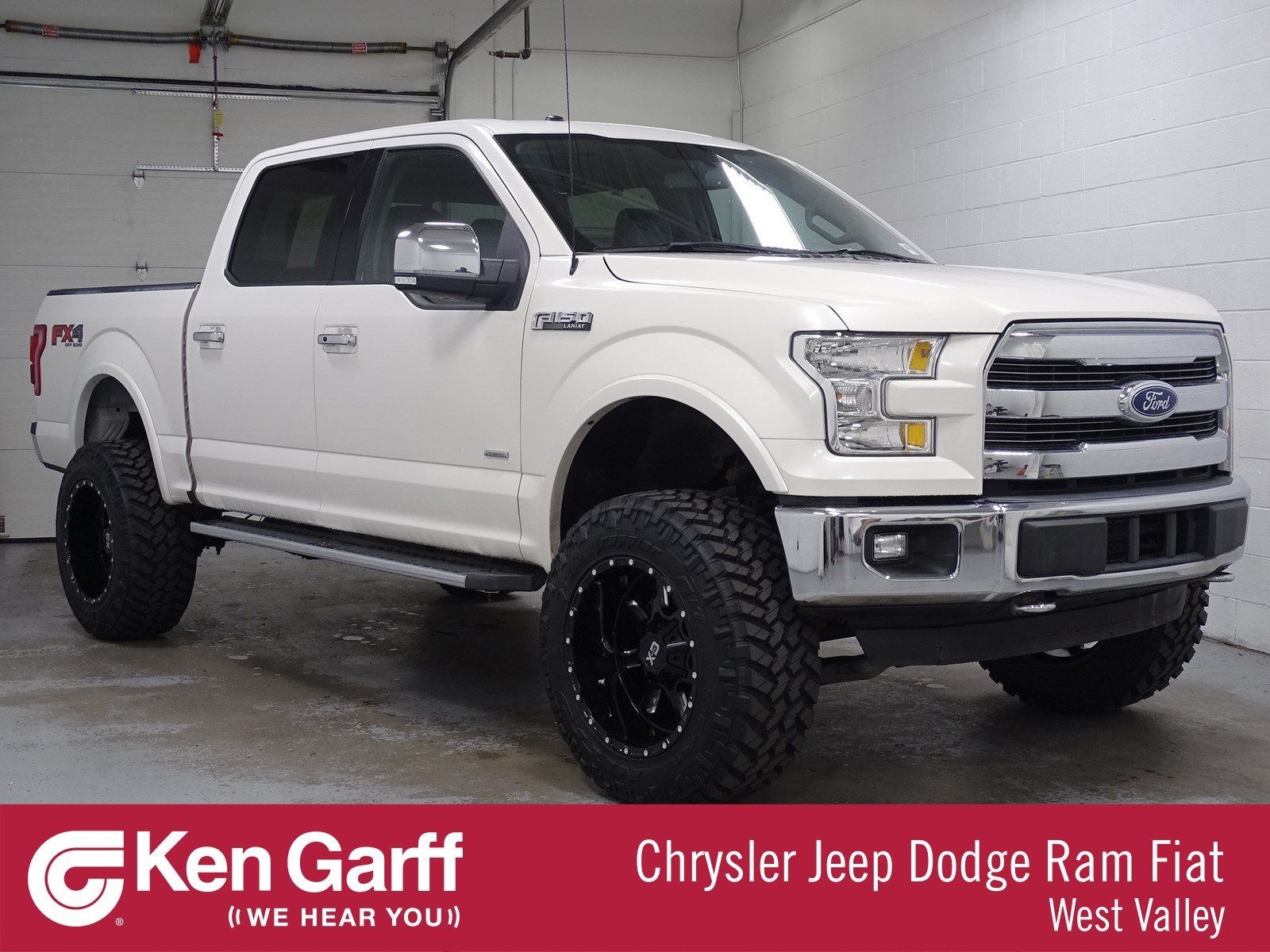 Lifted 2015 F150 >> Pre Owned 2015 Ford F 150 Lariat 4wd