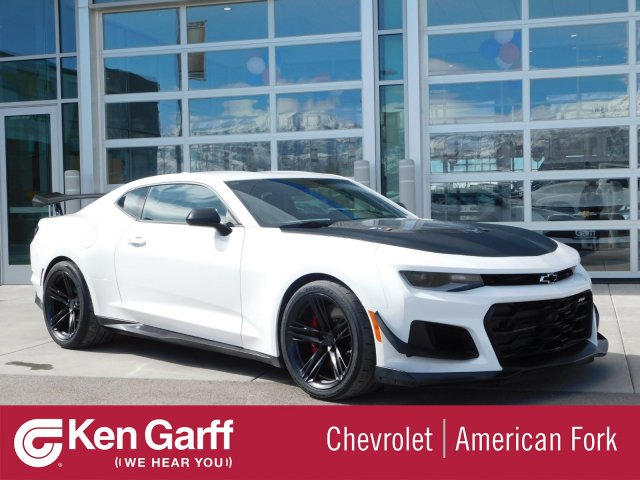 Chevy Dealer Utah >> New 2019 Chevrolet Camaro Zl1 2dr Car 4e90342 Ken Garff