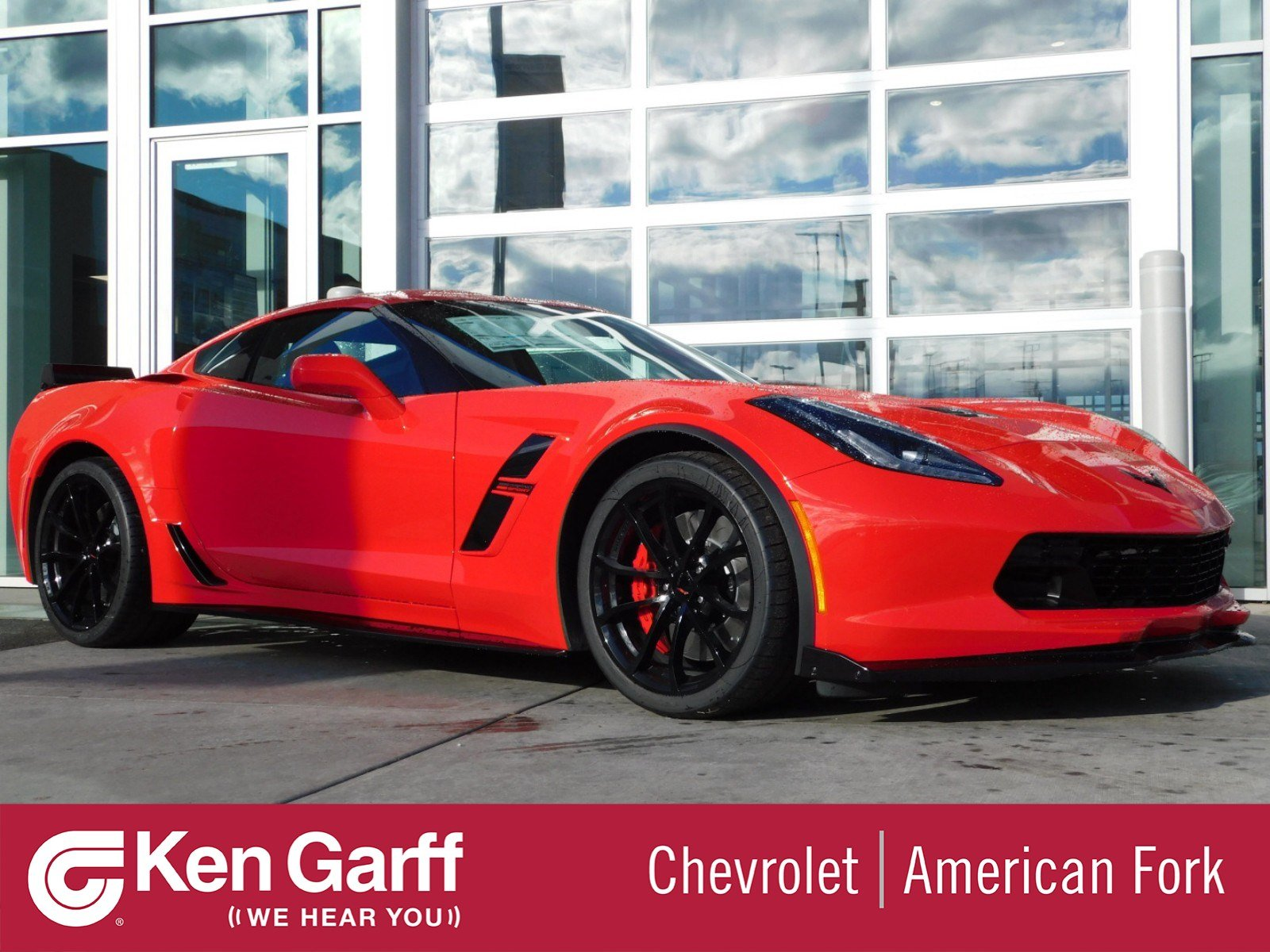 New 2019 Chevrolet Corvette Grand Sport 2LT 2dr Car ...