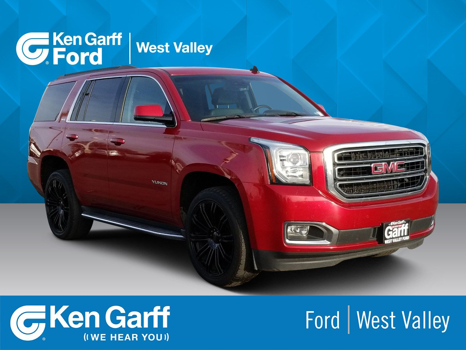 2015 Gmc Yukon Slt >> Pre Owned Gmc Yukon Slt With Navigation 4wd