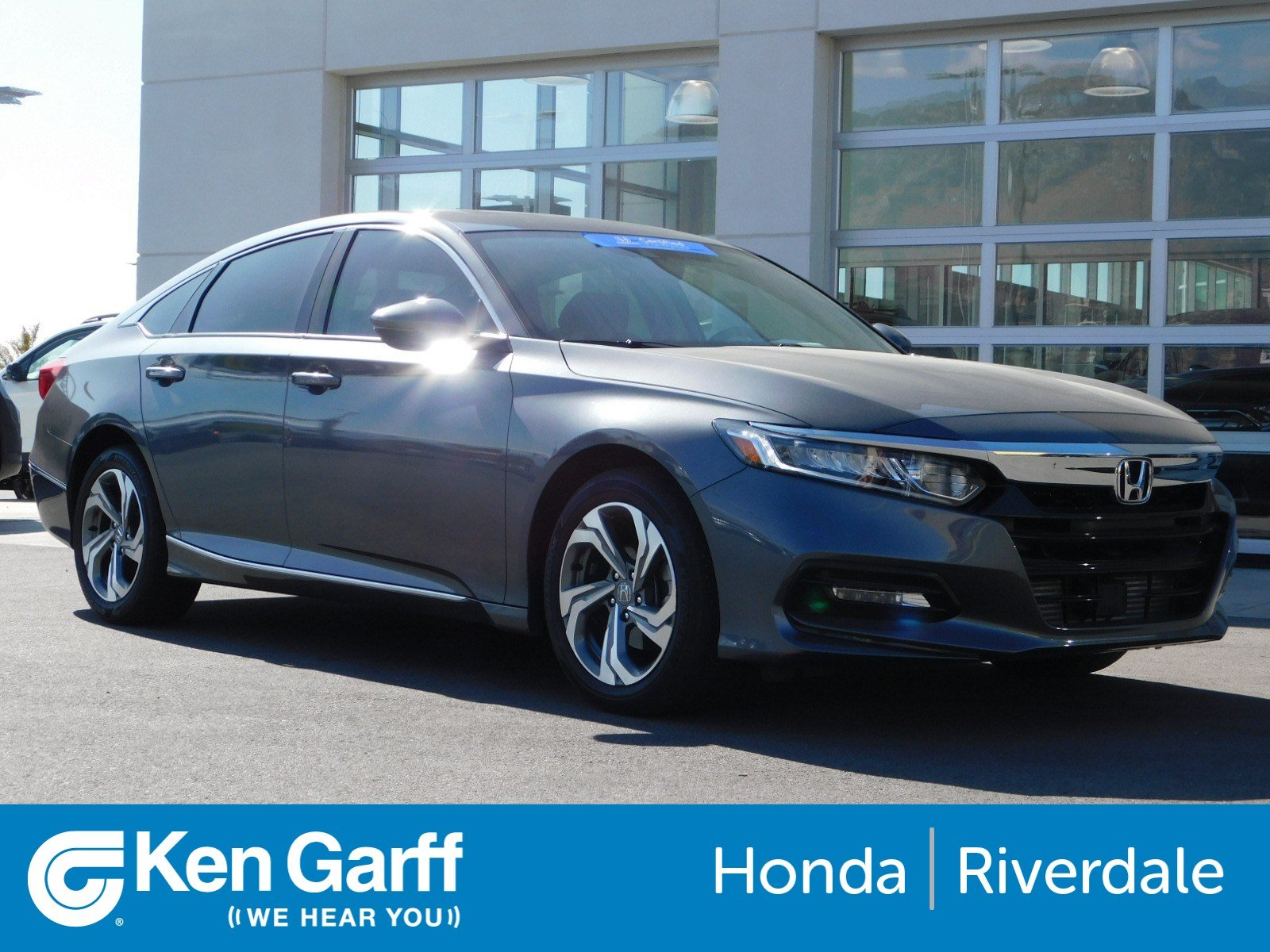 2018 Honda Accord Sedan >> Certified Pre Owned 2018 Honda Accord Sedan Ex L 1 5t Fwd 4dr Car