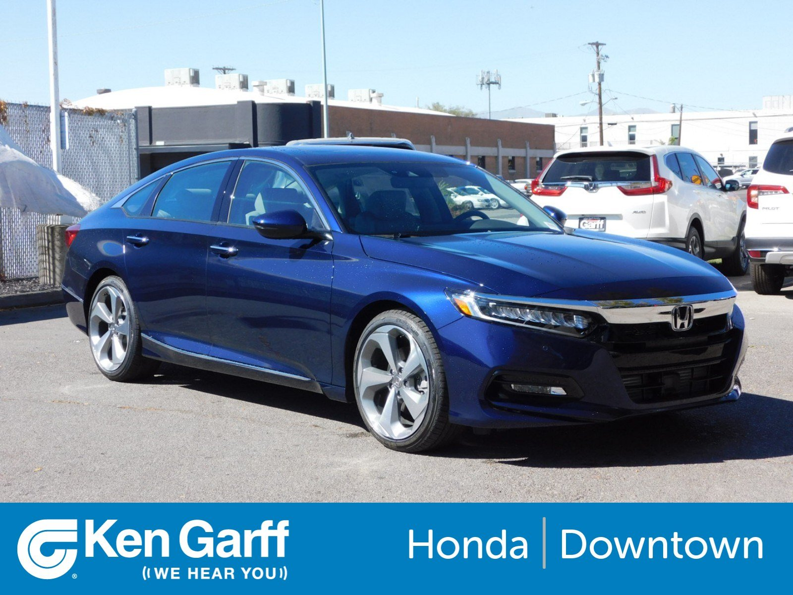 New 2018 Honda Accord Sedan Touring 1 5T 4dr Car 1H