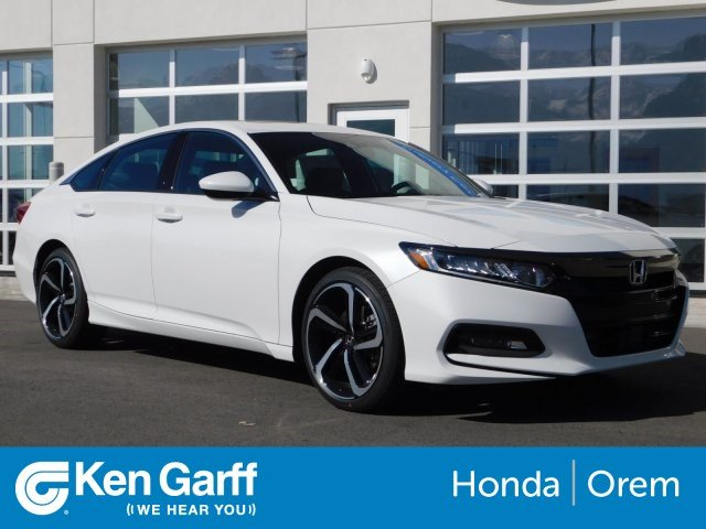 Honda Accord Sedan >> New 2019 Honda Accord Sedan Sport 2 0t Fwd 4dr Car