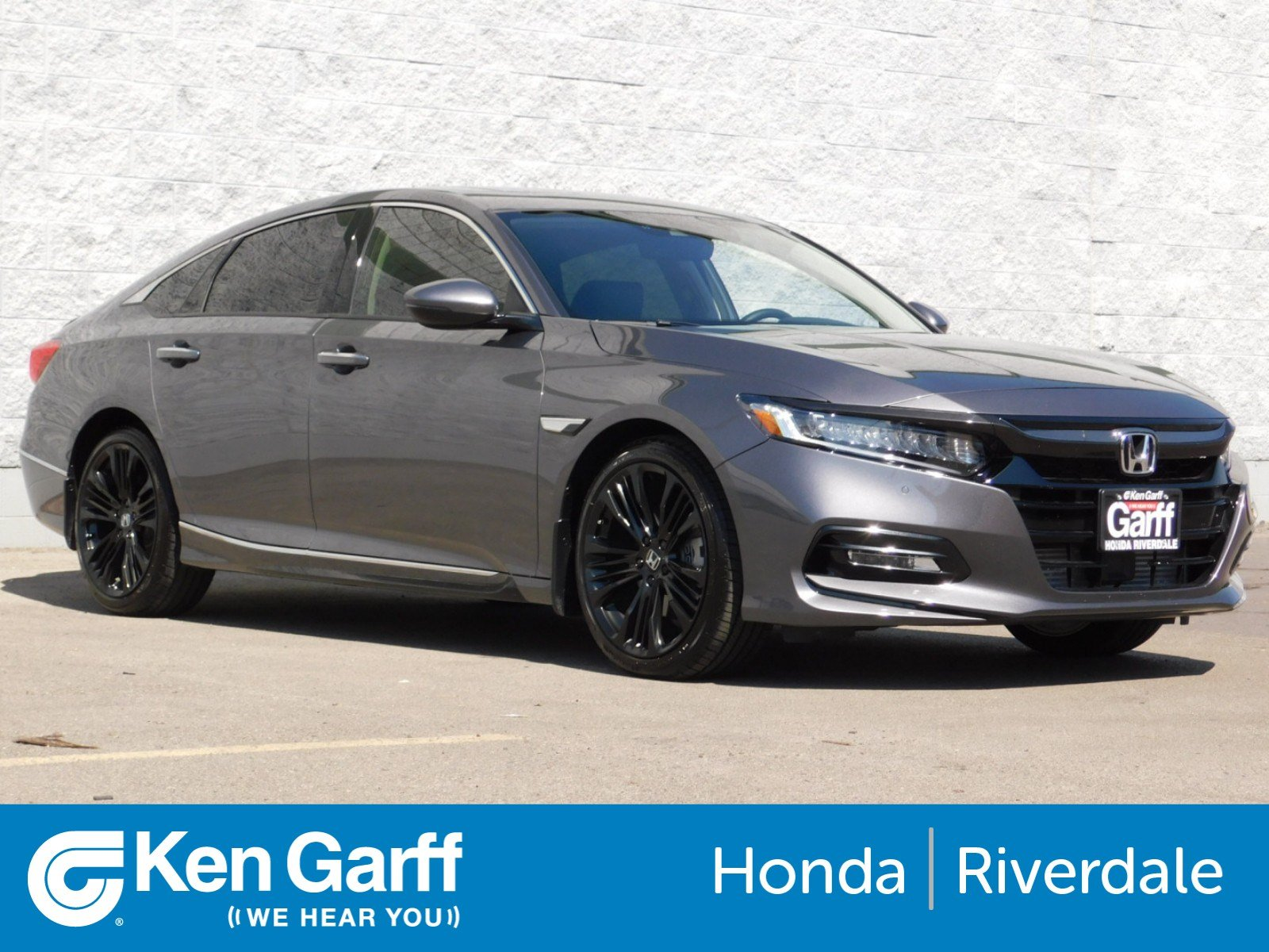 New 2018 Honda Accord Sedan Touring 2 0T 4dr Car 3H