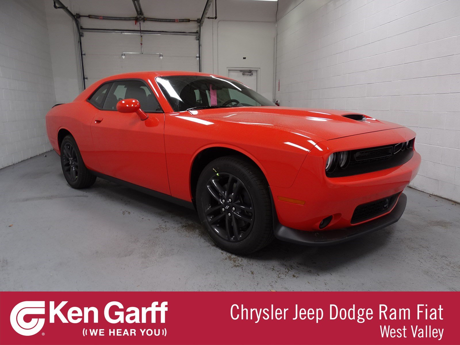 2019 Dodge Challenger >> New 2019 Dodge Challenger Gt Awd