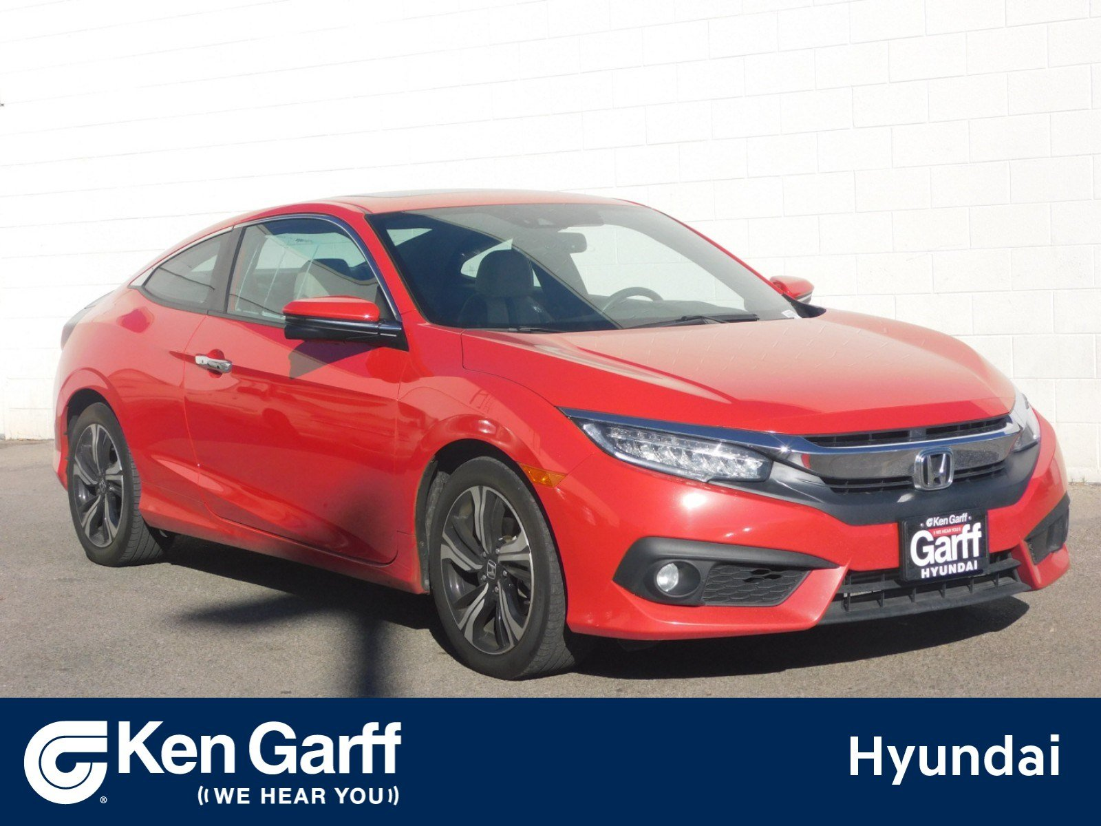 Pre Owned 2016 Honda Civic Coupe Touring 2dr Car 2YU2059