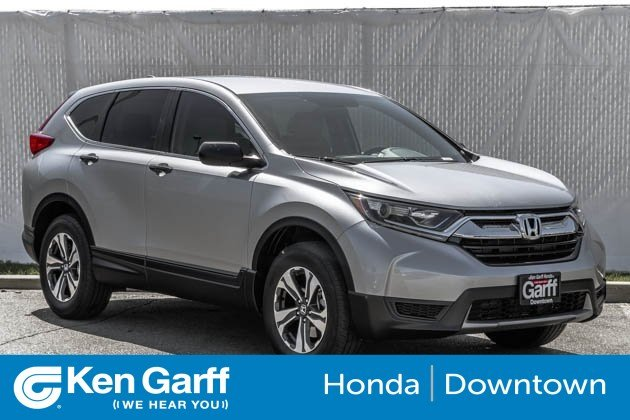New 2018 Honda Cr V Lx Sport Utility 1h80599 Ken Garff Automotive