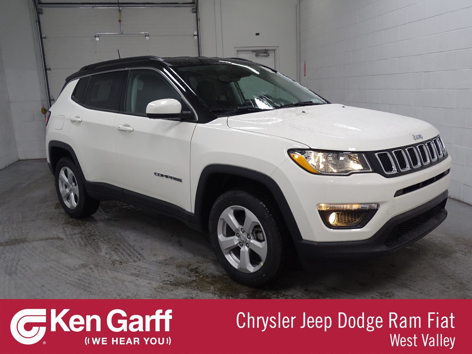 New Jeep Compass Latitude With Navigation & 4WD