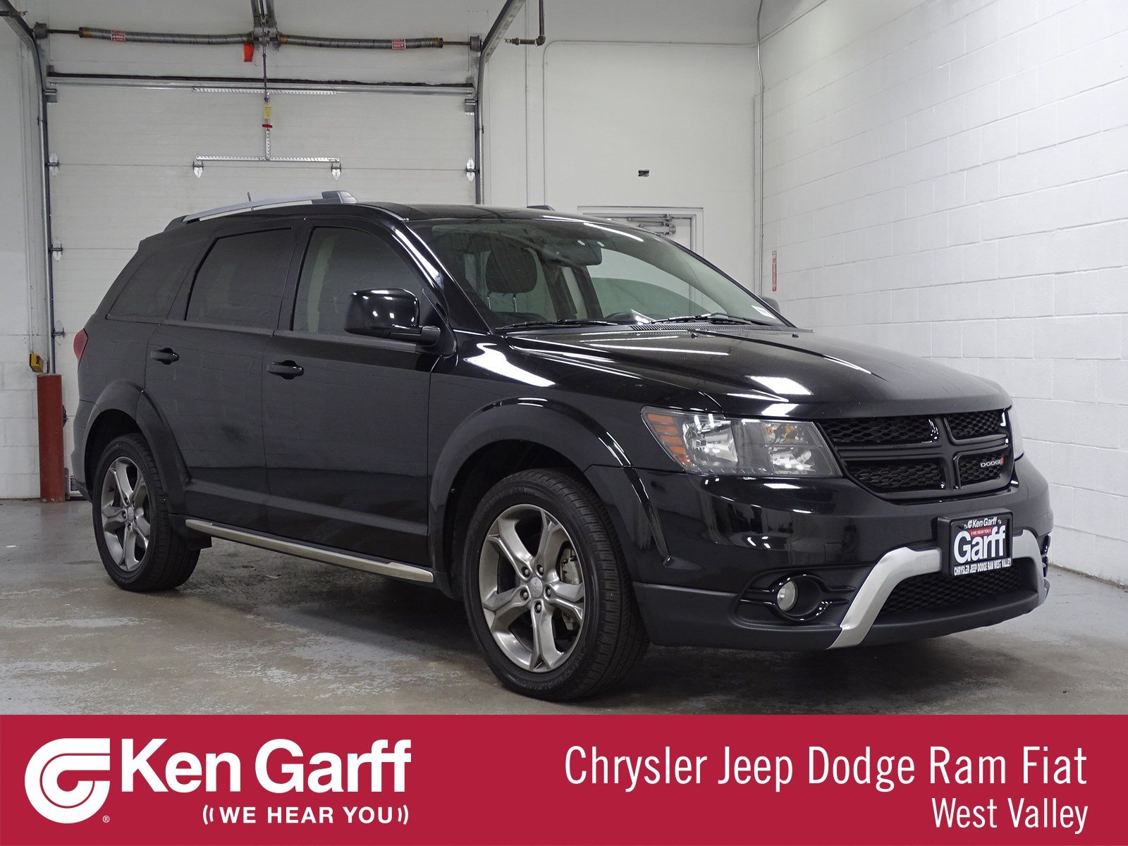2016 Dodge Journey >> Pre Owned 2016 Dodge Journey Crossroad Awd