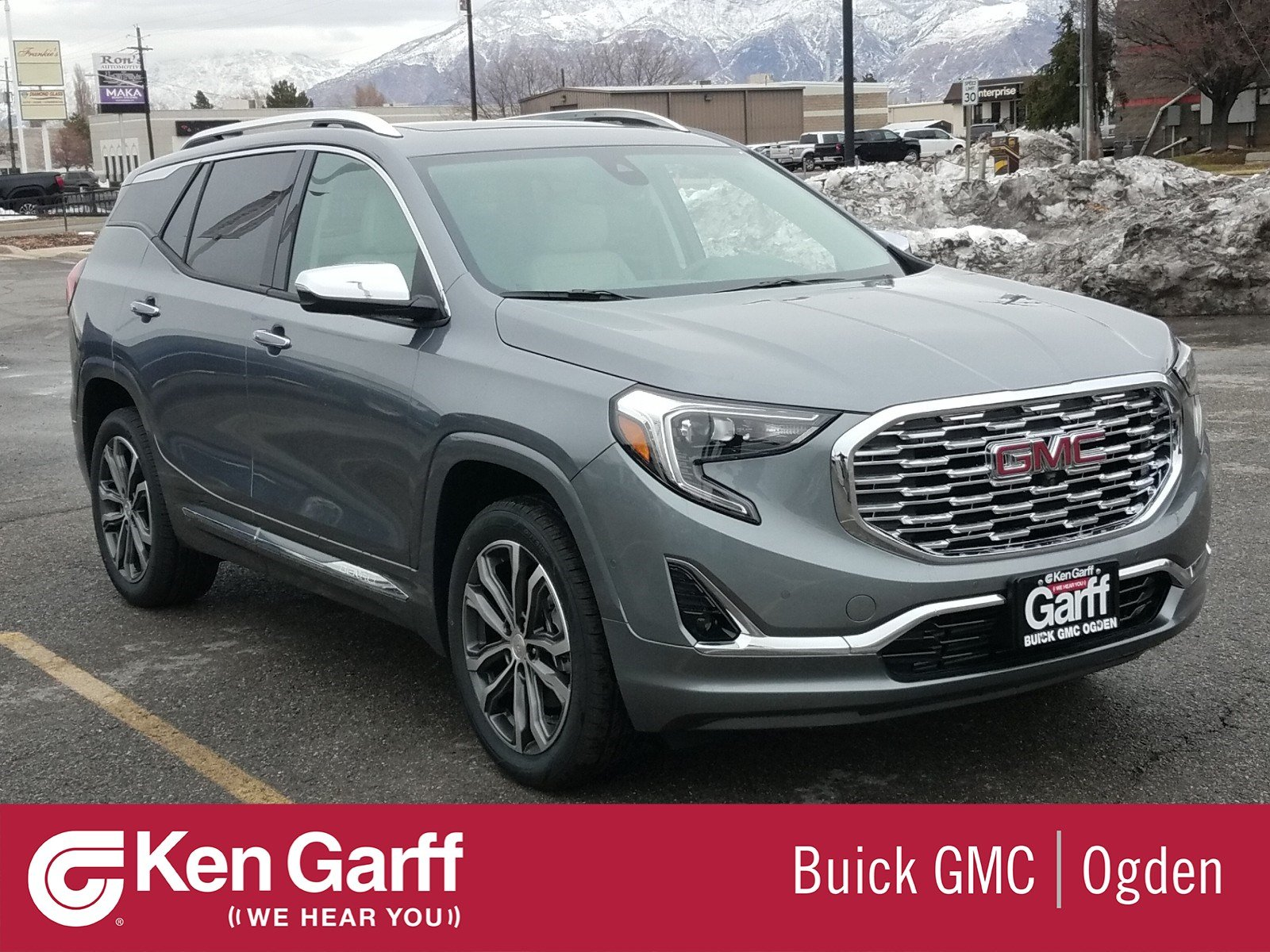 New Gmc Terrain >> New Gmc Terrain Denali With Navigation Awd
