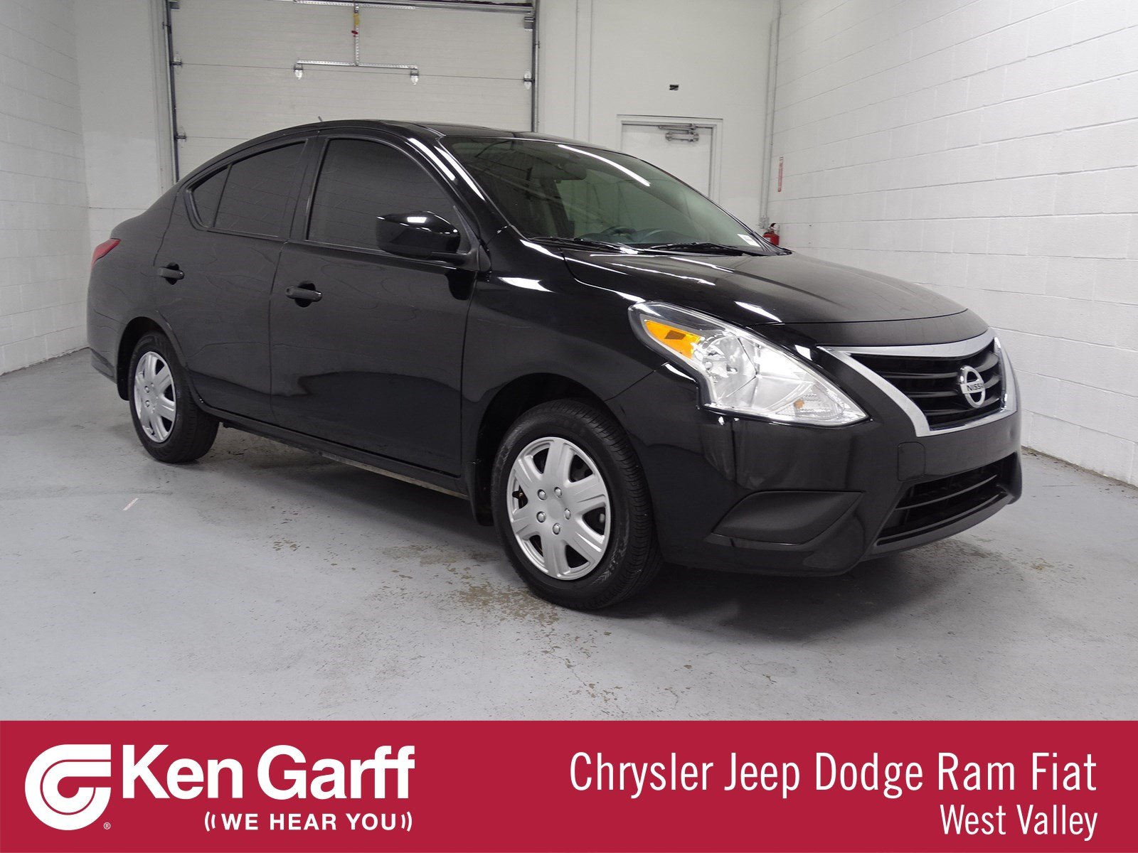 Pre Owned 2017 Nissan Versa Sedan S 4dr Car 1dw8288 Ken Garff