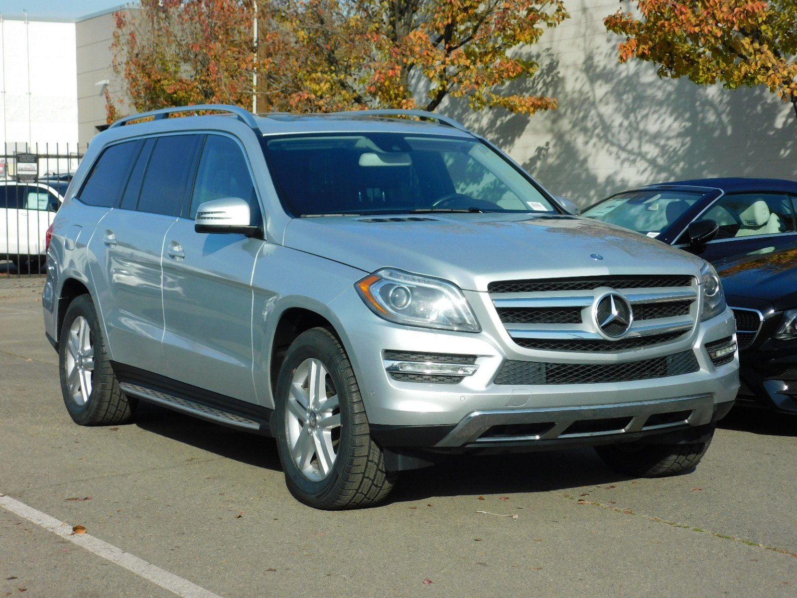 Certified Pre Owned 2014 Mercedes Benz GL Class GL 350 BlueTEC