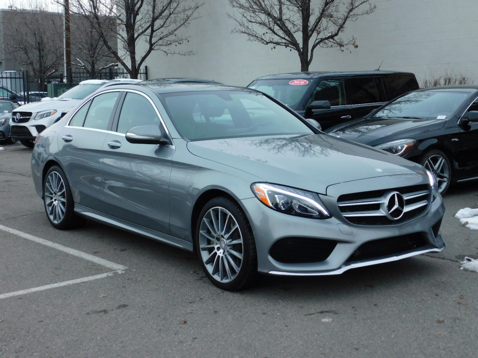 Certified Pre Owned 2015 Mercedes Benz C Class 4DR SDN C 300 SPORT