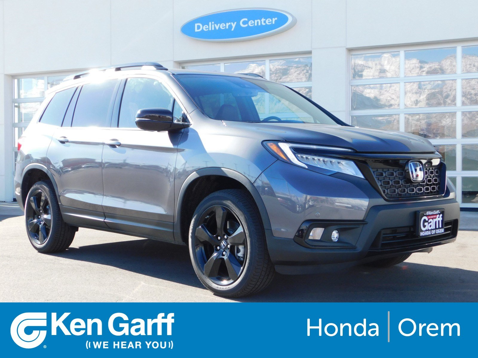New 2019 Honda Passport Elite Sport Utility 2h90528 Ken Garff