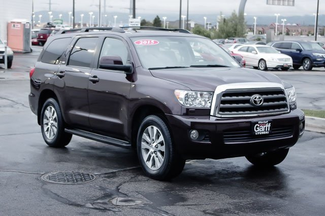 Certified Pre Owned 2015 Toyota Sequoia SR5 Sport Utility 3YU0955A