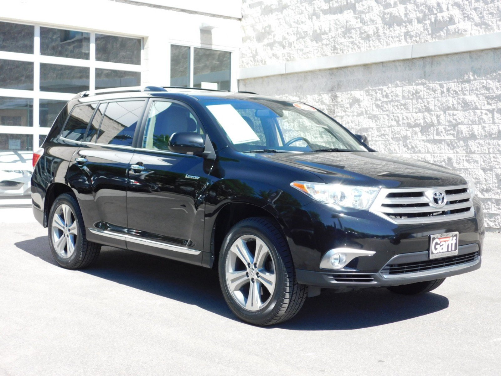 Pre Owned 2012 Toyota Highlander Limited Sport Utility 1M8443B