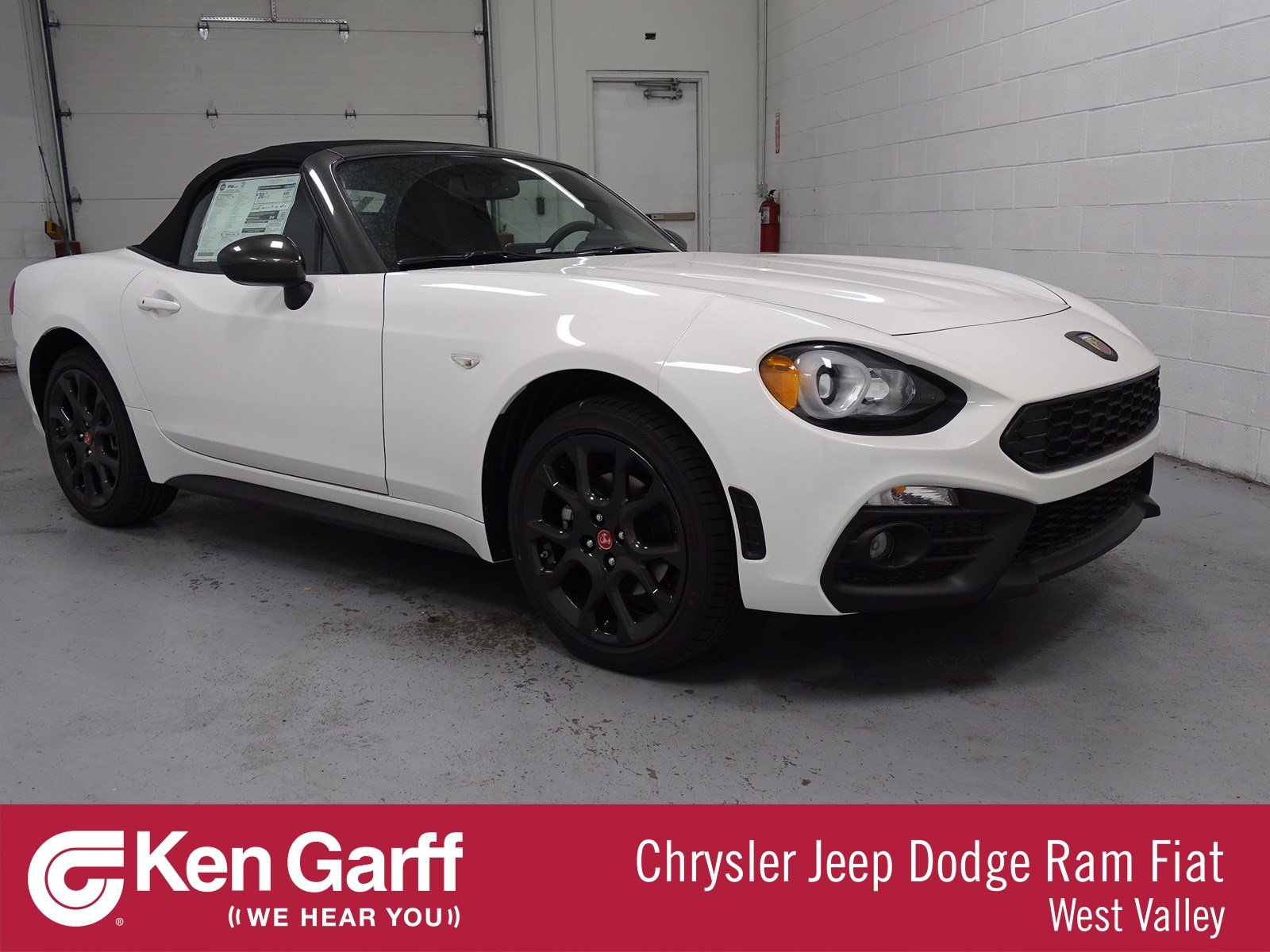 Ken Garff Dodge >> New 2019 FIAT 124 Spider Elaborazione Abarth Convertible #1T90000 | Ken Garff Automotive Group