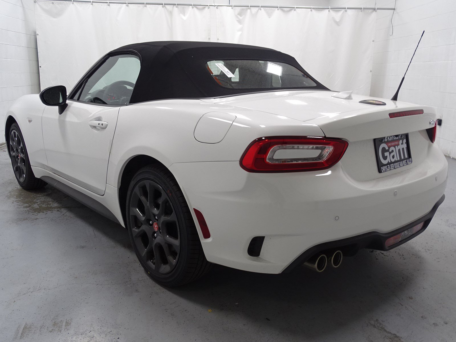 New 2019 FIAT 124 Spider Elaborazione Abarth Convertible 1T