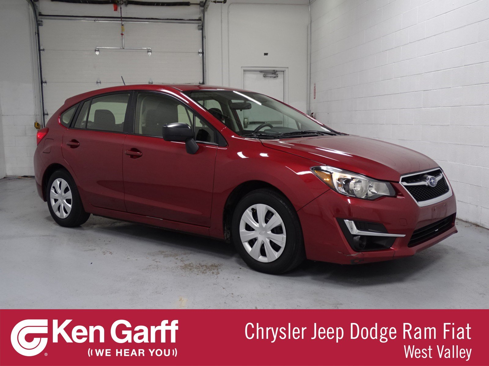 Pre Owned 2015 Subaru Impreza Wagon 2 0i Hatchback