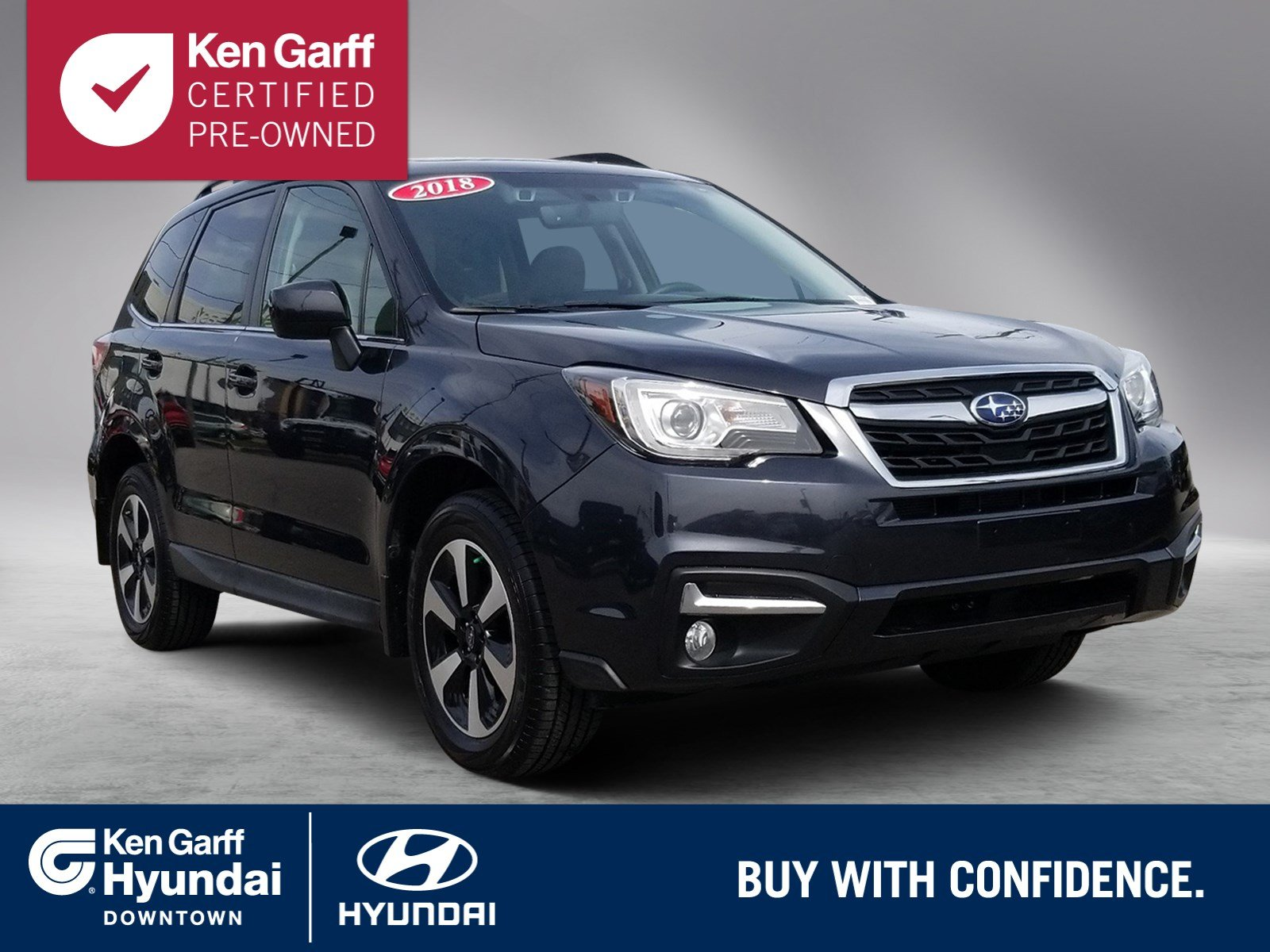 Certified Pre Owned 2018 Subaru Forester Limited