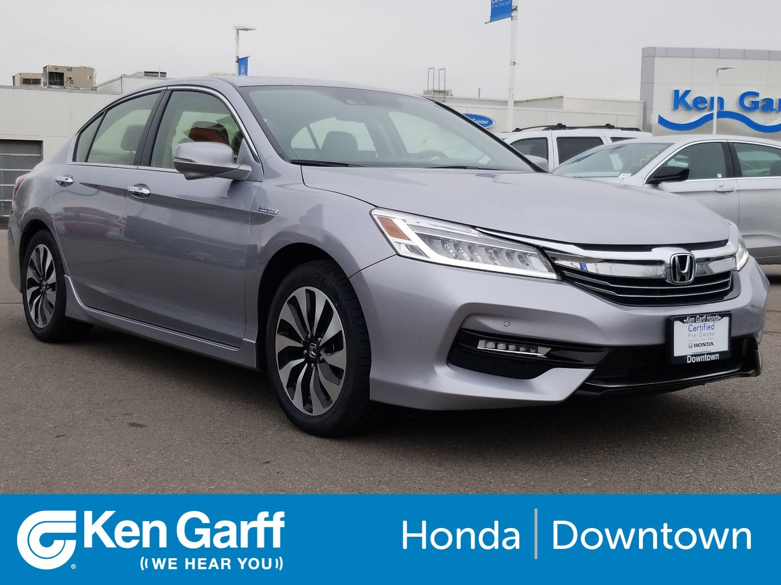 Certified Pre Owned 2017 Honda Accord Hybrid Touring