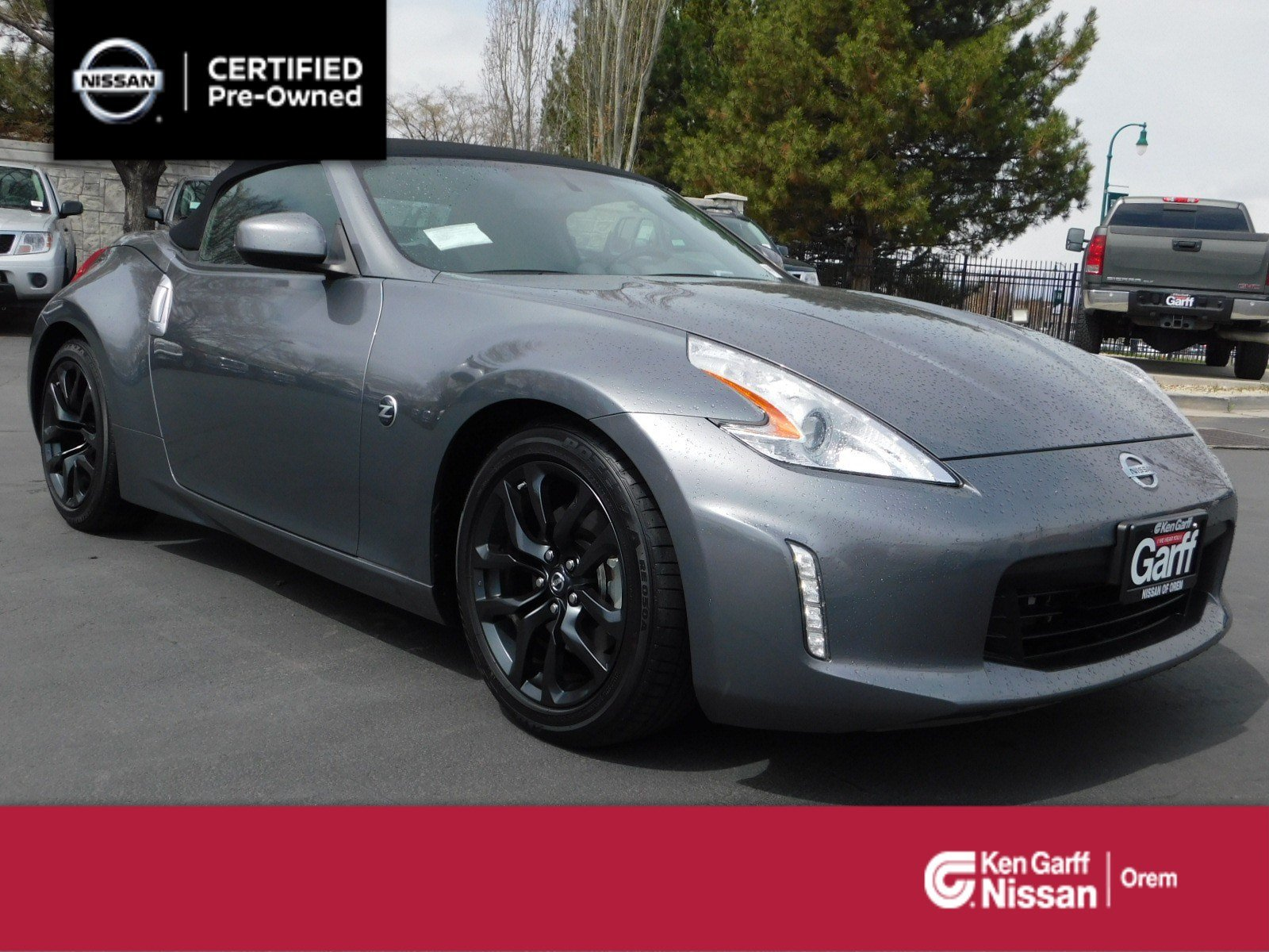 Nissan 370Z Convertible >> Certified Pre Owned 2017 Nissan 370z Roadster Auto Rwd Convertible