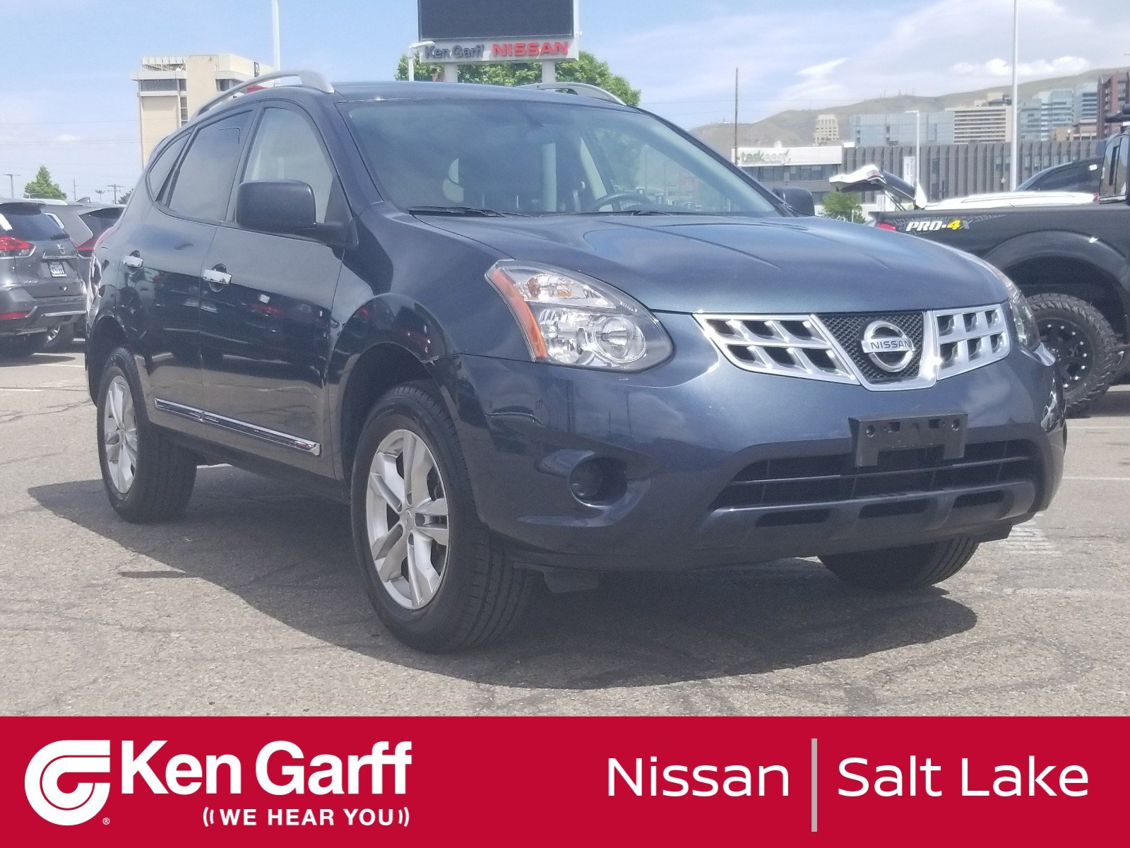Nissan Rogue Select >> Pre Owned 2015 Nissan Rogue Select S Sport Utility 1nu9720 Ken