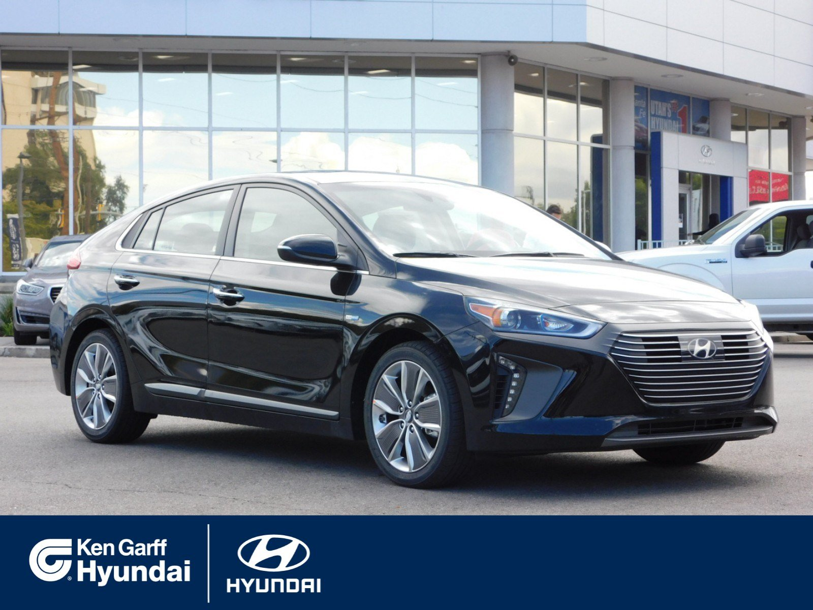 New 2019 Hyundai Ioniq Hybrid Limited Hatchback 2Y9062