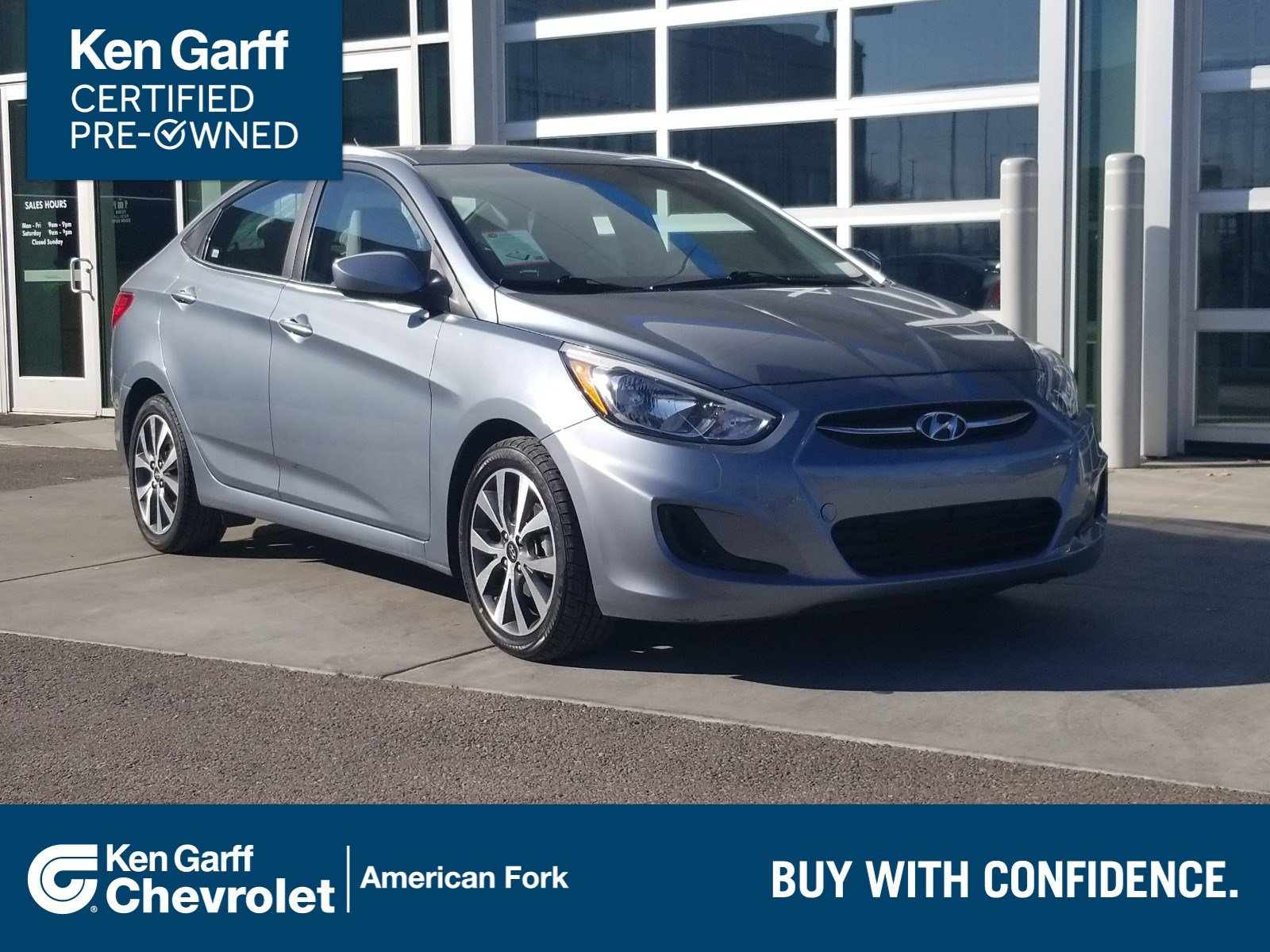 Certified Pre-Owned 2017 Hyundai Accent Value Edition