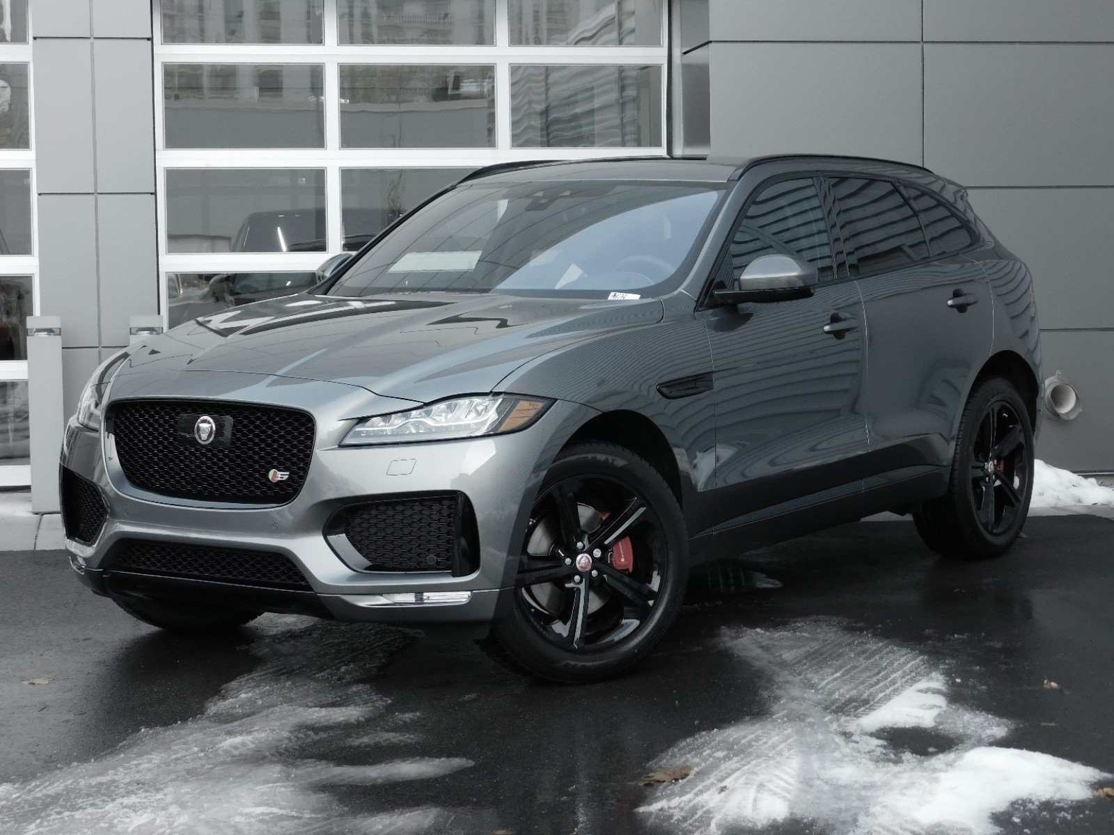 New Jaguar F Pace S With Navigation Awd