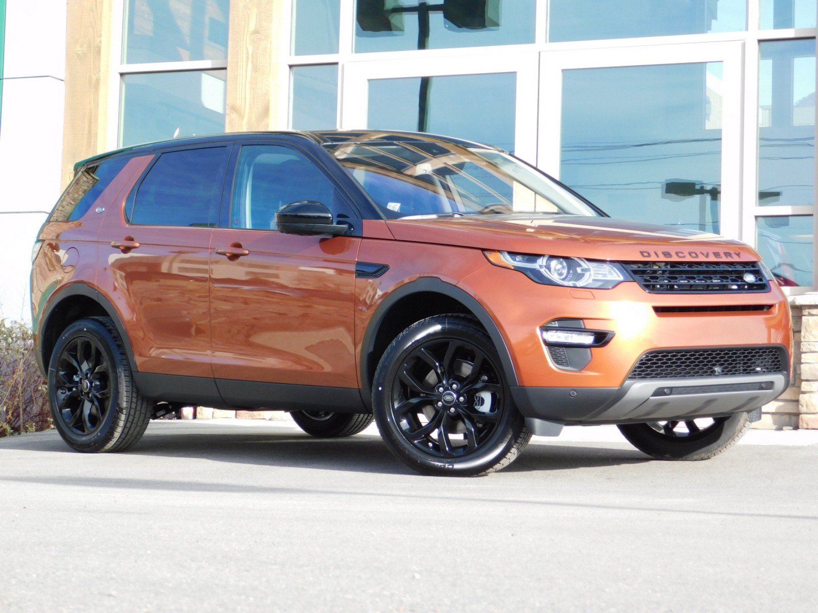 Land Rover Discovery >> New 2019 Land Rover Discovery Sport Hse 4wd