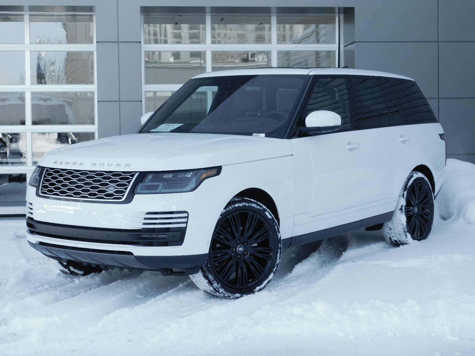 New 2018 Land Rover Range Hse