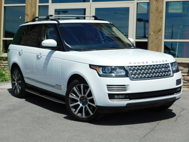 Who Owns Range Rover >> Pre Owned Land Rover Range Rover Supercharged Autobiography With Navigation 4wd