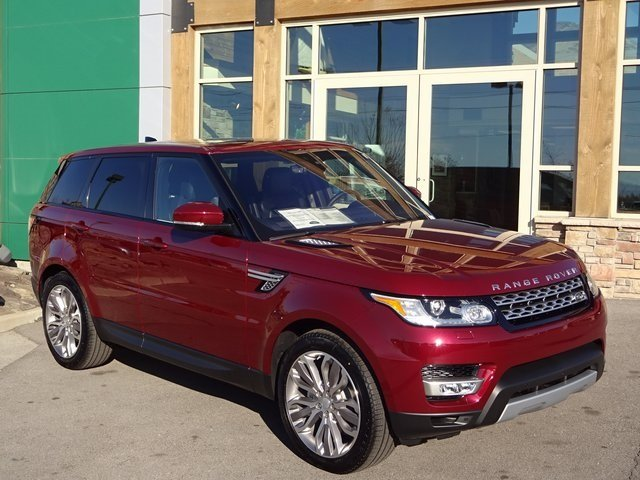New 2017 Land Rover Range Sport Hse